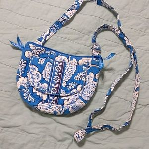Vera Bradley Blue Lagoon (retired) Lizzy Crossbody